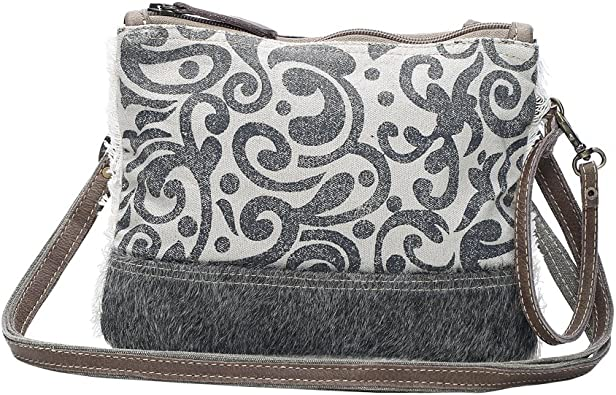 Myra Bag Dual Strap Cowhide Upcycled Canvas Small Bag S 1150 Handbags Amazon Com All categories amazon devices amazon fashion amazon global store appliances automotive parts & accessories amazon best sellers. myra bag dual strap cowhide upcycled canvas small bag s 1150