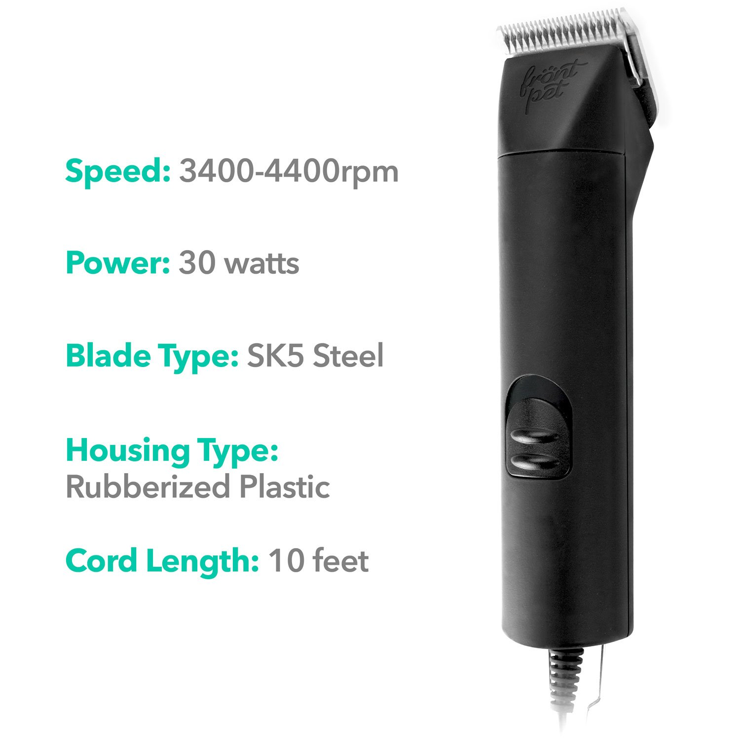 FrontPet 2 Speed Pet Clippers Professional Dog Pet   Cat Dog Grooming Clippers Animal Grooming Tool Kit & Supplies