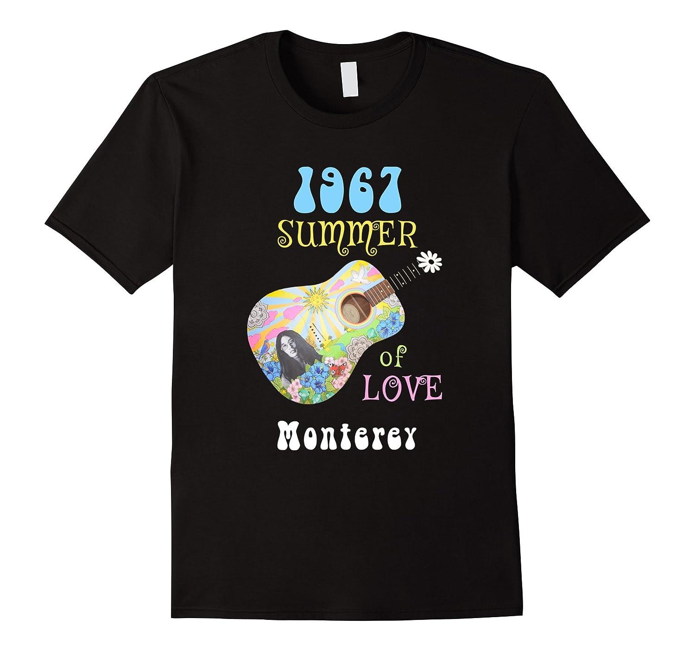 1967 Summer of Love Monterey Hippie T-shirt-CD
