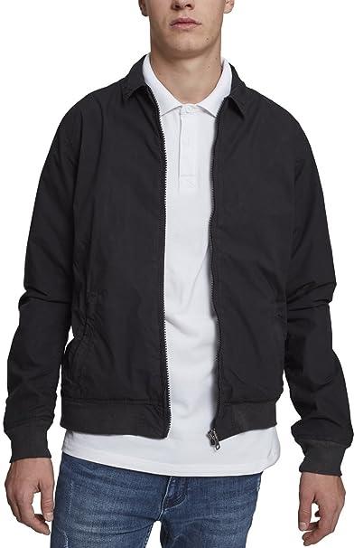 Cotton Worker Jacket, Chaqueta para Hombre, Verde (Dark Olive 00551), X-Large Urban Classics