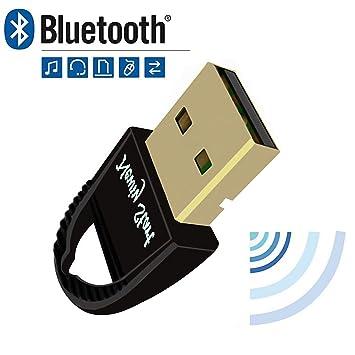 Newiy Start - Adaptador USB Bluetooth 4.0, Plug and Play en Windows 10, 8