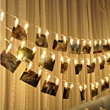 Amazon Price History for:Clip String Lights, Bangcool 10Feet 20 LED Photo Clips String Lights Indoor Fairy String Lights for Birthday Wedding Graduation Party Dorms Bedroom Decoration(Warm White)