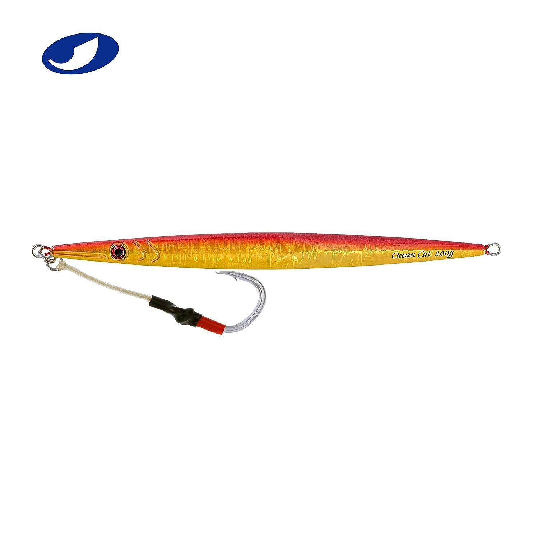 【現金特価】 Ocean 8 Cat 1 5/6oz(250g) pc速度Fallピッチ釣りLuers Sinking LeadメタルジグJigging餌フックの海水の釣り160 g// 200g/ 250g/ 300g B078X95H5X 8 5/6oz(250g)|Red&Gold Red&Gold 8 5/6oz(250g), メガネコンタクトの@style:69a92a71 --- a0267596.xsph.ru