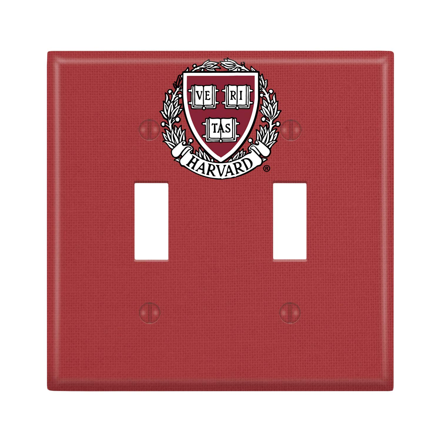 Keyscaper Harvard Crimson Solid Lightswitch Plate for