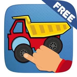 Boys Cars & Trucks Puzzle App (great free game for toddlers)