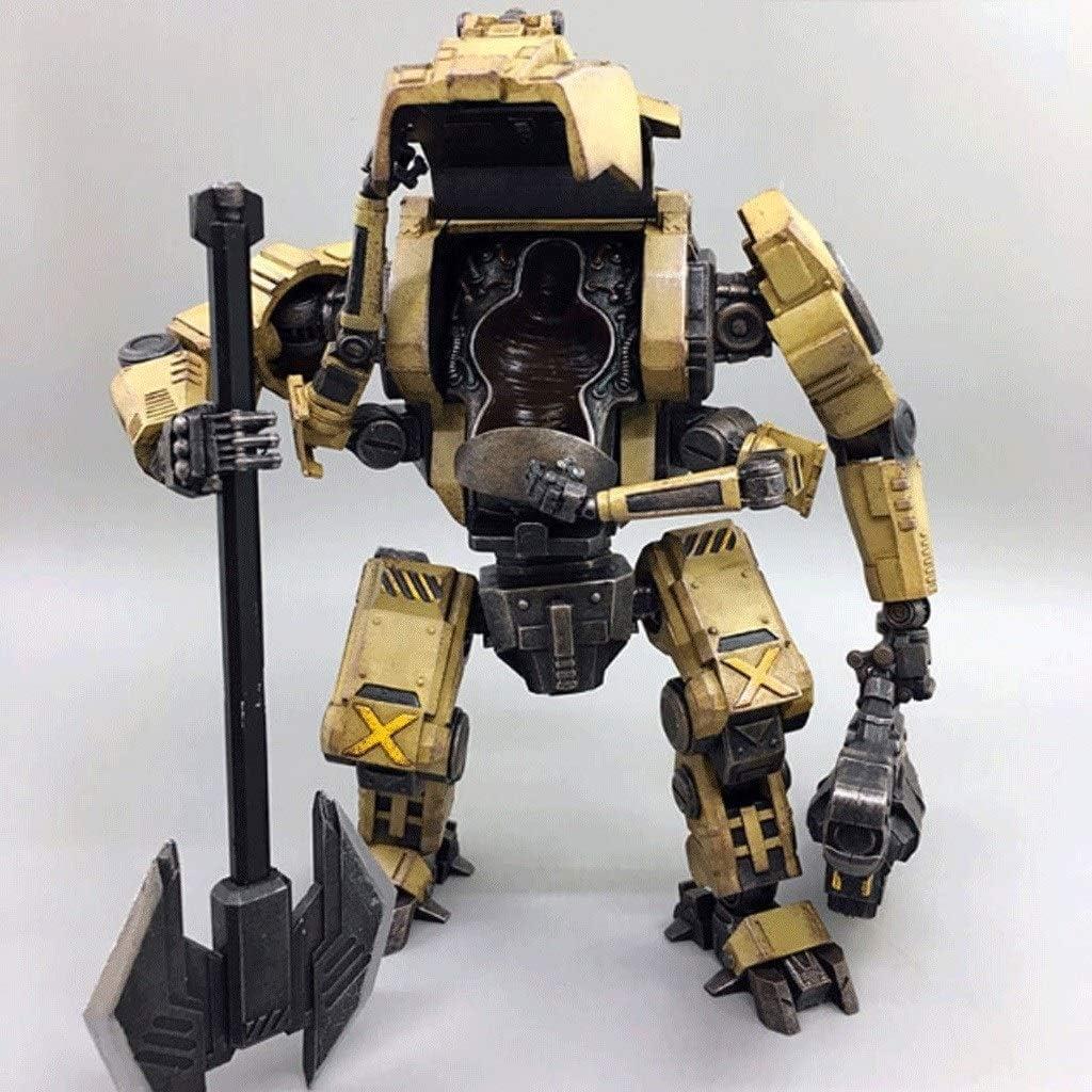 CQ Figura de acción Militar del ejército, de Acero del Hueso Ataque de Mecha Hierro Esqueleto HT01 (No Hay Soldados) 1/18 Escala de Figuras Colección Moderna Modelo Militar Toys: Amazon.es: Juguetes y