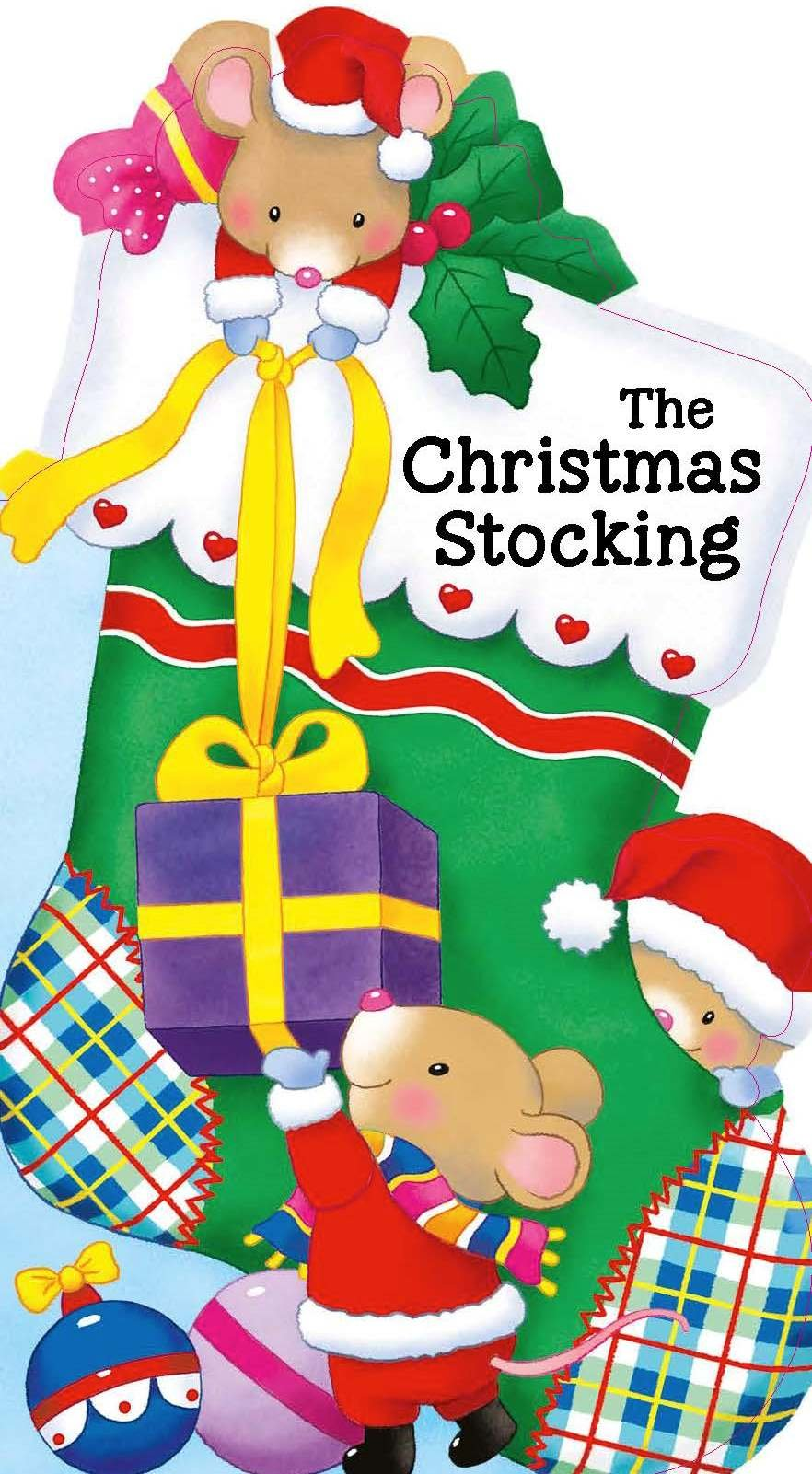 Read Online The Christmas Stocking (Little People Shape Books) pdf epub