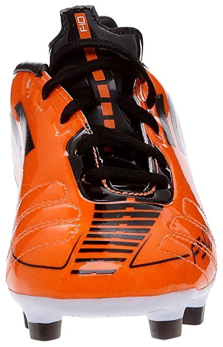 adidas F10 TRX FG J, Chaussures football enfant, OrangeNoir