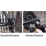 BASENOR Bike Trailer Coupler Attachment Steel Hitch