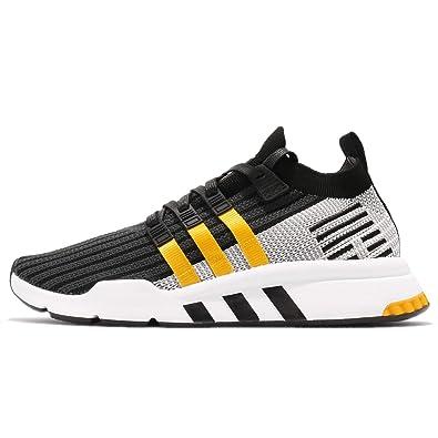 separation shoes 6c17f 9ebf6 Image Unavailable. Adidas Mens EQT Support Mid ADV PK, CORE BlackEQT  YellowFootwear White