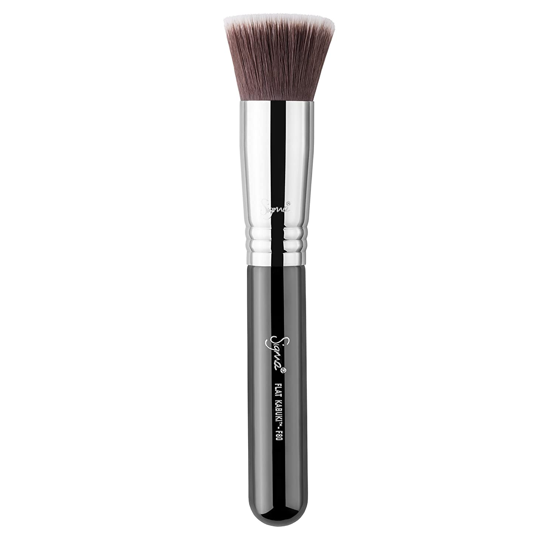 Sigma Flat Top Synthetic Kabuki SS197/F80 - Kosmetikpinsel - Schwarz BeautyCentre