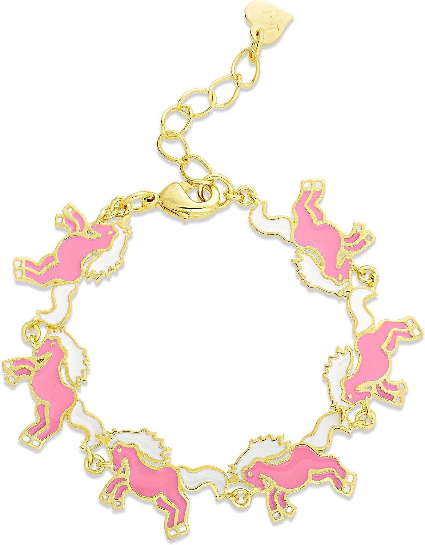 Lily Nily Girls Unicorn Link Bracelet