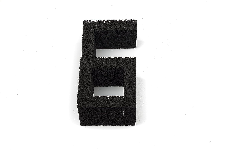 Sin Marca Nueva Estera de esponja de filtro de carbón de 6 piezas Pecera media ajusta Juwel Compact: Amazon.es: Hogar