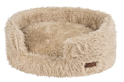 Wouapy T50 Deluxe - Cama para Perro, Color Beige