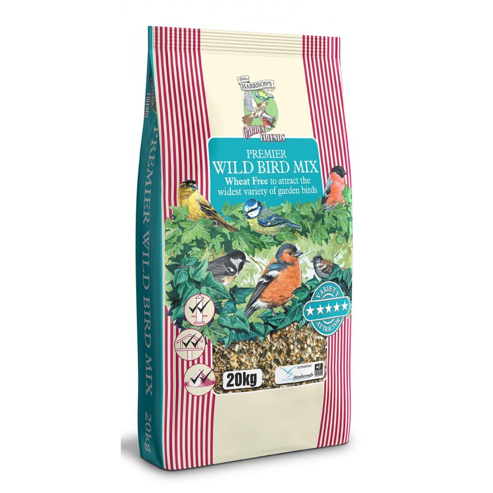 Harrisons Premier Wildbird Mix 20kg