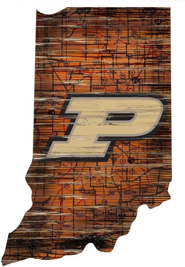 Fan Creations Purdue Cutout Sign (State), Multi