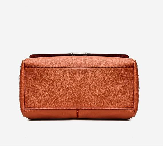Taschen Mittleren Alters Koreanische Version Schulter Messenger Fashion Wild Nähen Handtasche,A4-OneSize BFMEI