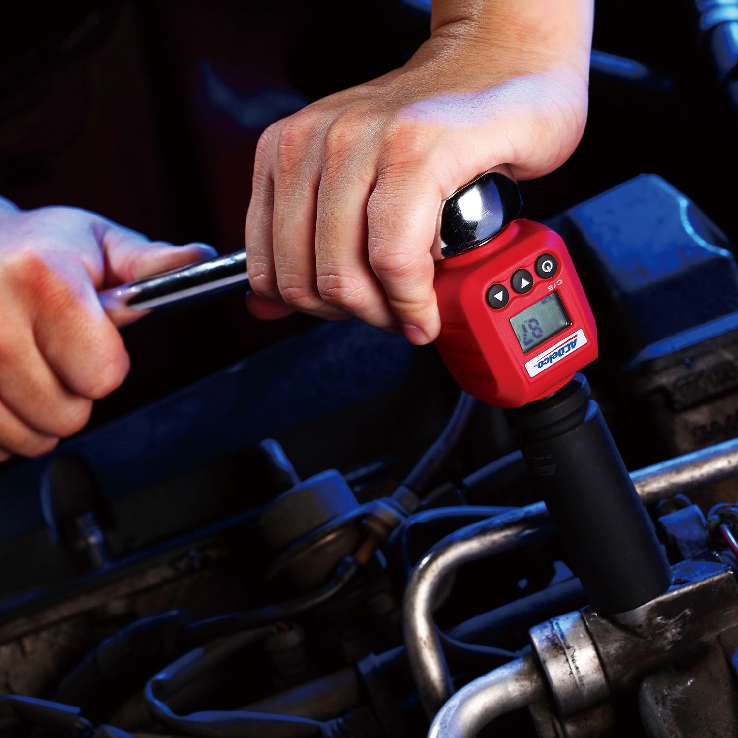 ACDelco 1/2'' Digital Torque Adapter (4-250 ft-lbs) with Audible/LED Alert ARM602-4A by ACDelco Tools (Image #5)