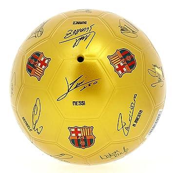 Pelota FC Barcelona firmas: Amazon.es: Juguetes y juegos