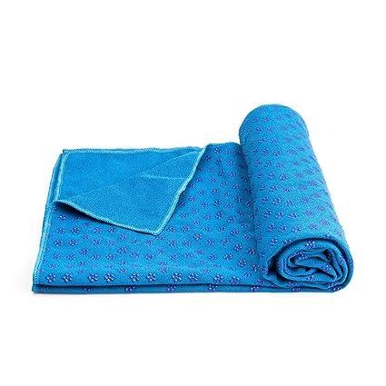 Buy IRIS Yoga Mat Towel 72 inch x 24 inch Long Non Slip Yoga Mat Towel 1465ca5ff