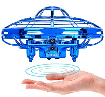 POWERbeast - Mini Drone para niños y niños, Manos Libres, secador de Mano,