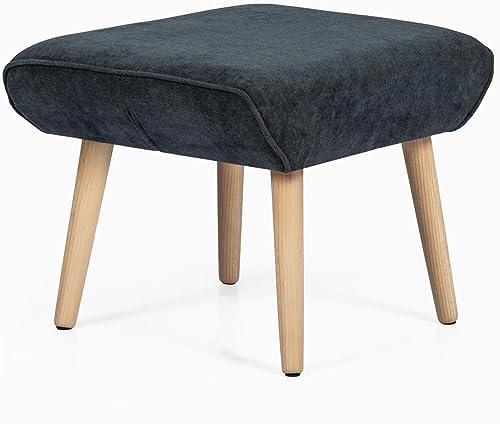Homebeez Velvet Ottoman Stool Footrest Review