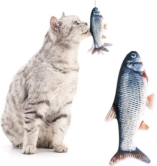 Juguetes para Gatos Juguete para Gatos con Movimiento eléctrico Interactivo Juguete para Gatos Juguete para Gatos con Meneo Divertido Juguete para Gatos Catnip Kicker: Amazon.es: Productos para mascotas