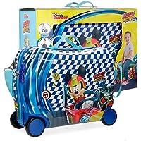 Mickey Race Children's Luggage, 50 cm, 34 liters, Multicolour (Multicolor)