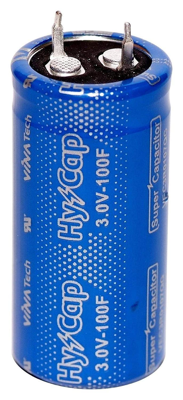 Condensateur, 100 F, 3 V, Super condensateur, Radial / / / VEC3R0 107QG / (Lot de 1) VINATECH HR-2663721-1