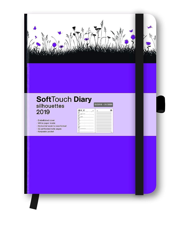Agenda 2019 suave - Agenda Violet - elásticos - Touché doux ...