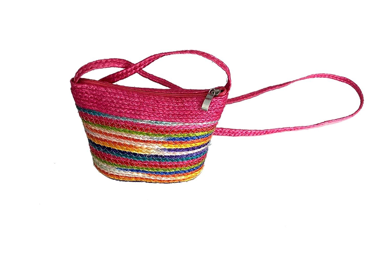 Amazon.com: Sial - Bolsa de tela étnica hecha a mano, color ...