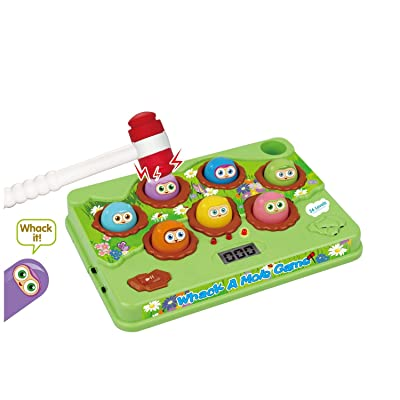 Whack A Mole Arcade Set with Score Keeper for Kids: Toys & Games