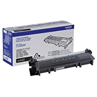 Brother Genuine High Yield Toner Cartridge, TN660, Replacement Black Toner, Page...