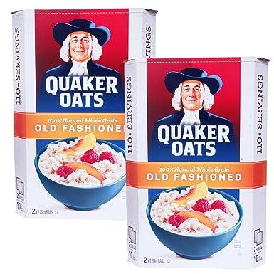 Avena Quaker bolsas 2.26kgX2 viejo estilo de moda dos