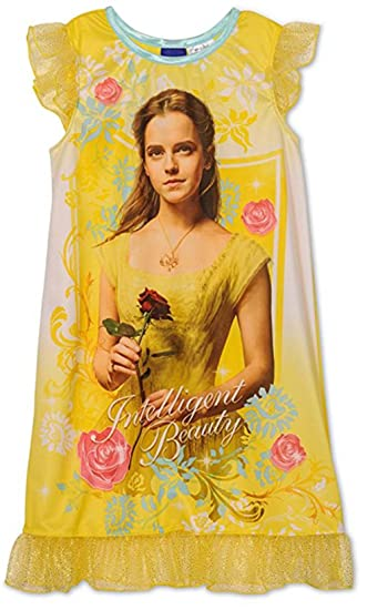d2456b46c2 Amazon.com  Disney Princess Girls Fantasy Gown Nightgown Pajamas  Clothing
