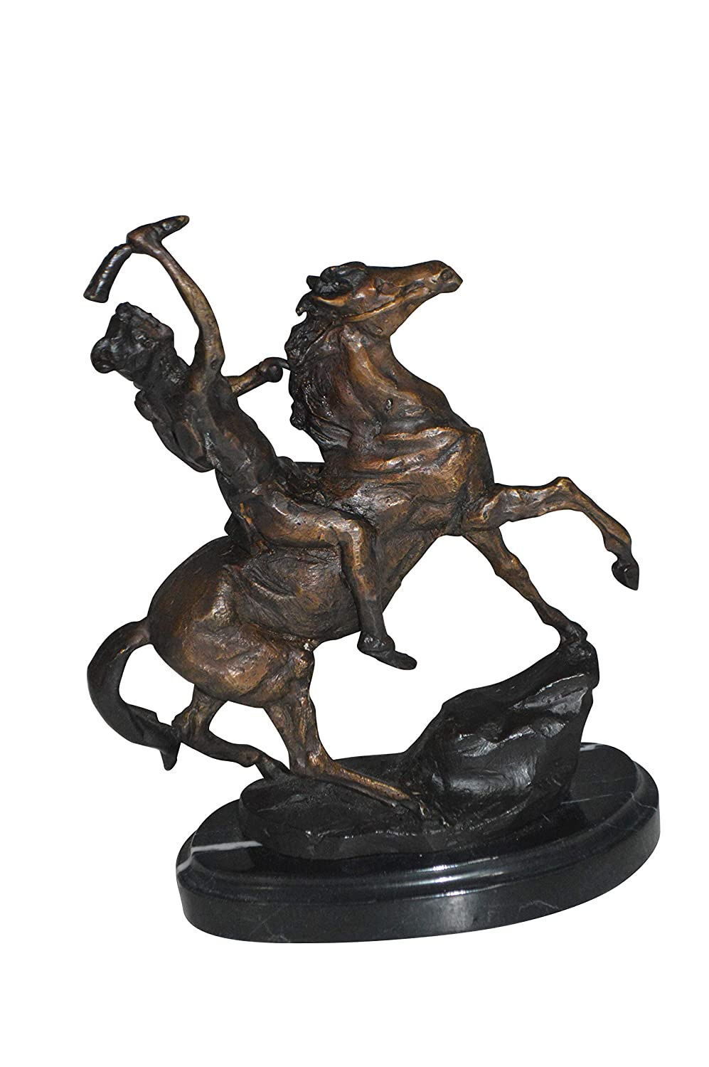 Amazon.com: Scalp by Remington Bronze Statue - Size: 3