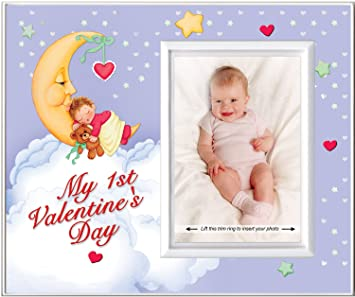 my first valentines day picture frame gift - Valentines Picture Frames
