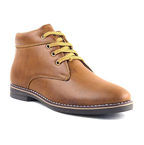 7a05a2915a9 J10 Boy s Casual Tan Colour Boot for Kids bata  Amazon.in  Shoes   Handbags