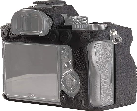 Easy Hood Schutzhülle Für Sony Alpha 7r Iv A7r Iv A7riv α7r Iv A7r4 A7rm4 Ilce 7rm4 Digitalkamera Strukturierte Oberfläche Kratzfest Schmale Passform Weiches Silikon Gummi Schwarz Elektronik