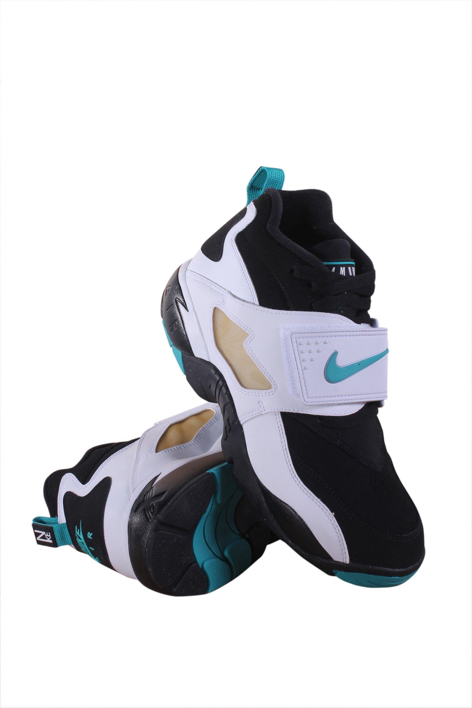 Nike 309434-013 Men AIR Diamond Turf Black DEEP Emerald White Metal by Nike (Image #1)