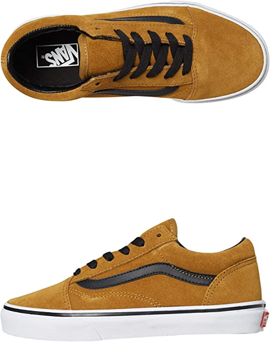 Vans Old Skool, Baskets pour Enfants: : Chaussures