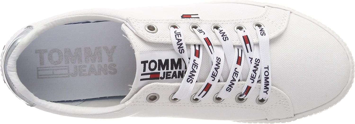 Tommy Jeans Femmes Casual Sneaker Chaussures Noir Black article Neuf 36 37 38 39 40 41