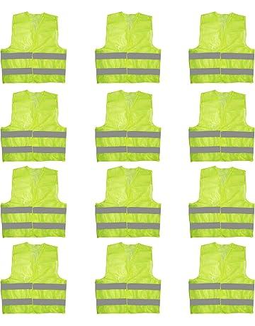 4pcs High Visibility Band Reflection Elastic Wristbands Ankle Straps Emergence Safety Warning Bands Running Cycling Reflective Reflective Material Roadway Safety