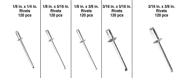 Performance Tool M680 3//16-Inch Heavy Duty Hydraulic Riveter
