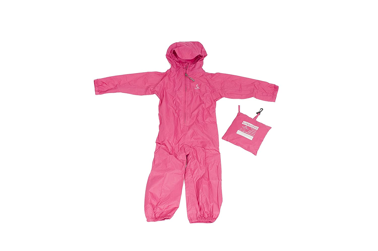 Toddler /& Child Waterproof Packasuit All-in-One Snow//Rain Suit Hippychick Baby