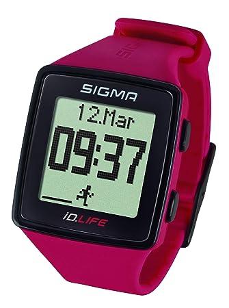 Sigma Pulsera de Actividad Fitness Negro/Verde Pino Monitor Cardio Pulsómetro Podómetro