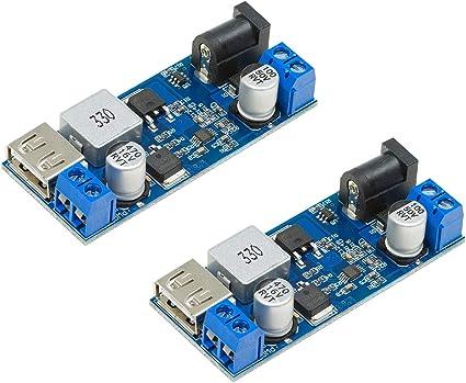 12v 10 X DC-DC convertidor dual 2,2-5,5 V a Arduino ras Pi 12v 2 vatios F
