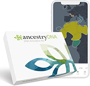 AncestryDNA: Genetic Ethnicity Test, Ethnicity Estimate, AncestryDNA Test Kit, Health and Personal Care