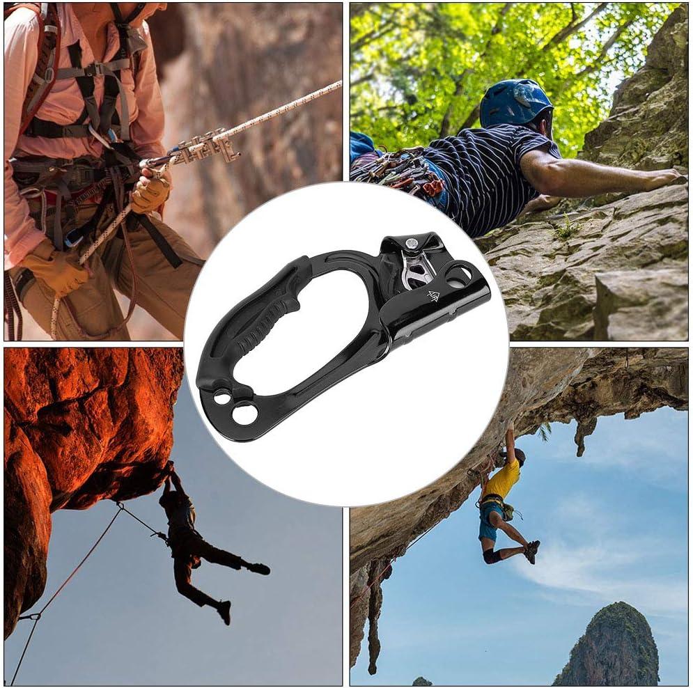 SOONHUA Ascensor de mano, 8-13 mm, para montañismo, escalada ...