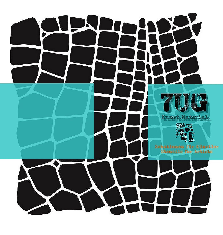 Designer Schablone, Motiv Netz, net, 7UG 001, Texturen für Künstler ...